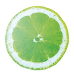 Cut-out »lime« for hanging, printed double-sided, made of...