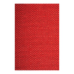 Hessian flame retardent according to B1 130cm Color: red