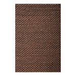 Hessian flame retardent according to B1 130cm Color: brown