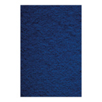 Molleton flame retardent according to B1 130cm Color: blue