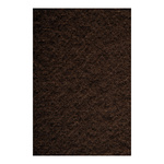 Molleton flame retardent according to B1 130cm Color: brown