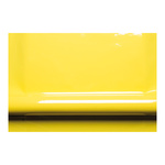 Varnish foil 2-layer 130cm Color: light yellow