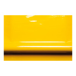 Varnish foil 2-layer 130cm Color: yellow