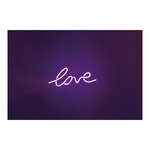 LED lettering »love« with eyelets to hang, 2m power cord,...