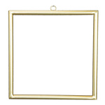 Metal frame squared, with hanger, to decorate 30x30cm...