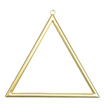 Metal frame triangular, with hanger, to decorate 30x30cm...