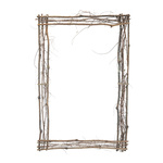 Frame of natural twigs with hanger H: 90cm, W: 60cm...