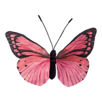 Butterfly made of paper H: 30cm Color: pink