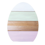 Easter egg with backside stand, made of wood 30x20cm...