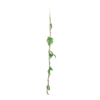 Vine decorated L: 150cm Color: brown/green