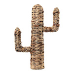 Cactus out of natural wickerwork H: 46cm Color: natural