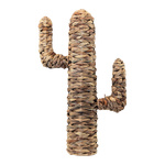 Cactus out of natural wickerwork H: 65cm Color: natural
