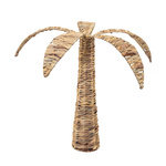 Palm tree out of natural wickerwork, multi-part Ø: 68cm,...