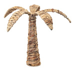 Palm tree out of natural wickerwork, multi-part Ø: 42cm,...
