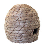Beehive made of styrofoam & synthetic fibre H: 30cm, Ø:...
