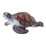 Turtle made of artificial resin L: 36cm, W: 28cm Color:...