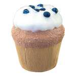 Blueberry cupcake XL, made of hard foam H: 18cm Color:...