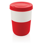 PLA Cup Coffee-To-Go 380ml Farbe: rot