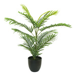 Areca palm tree in pot, made of artificial silk & plastic...