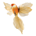 Hummingbird with clip styrofoam, feathers 18x20cm Color:...