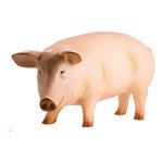 Pig synthetic resin 90x40cm Color: beige