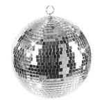 Mirror ball styrofoam, with glass discs 2500g, Ø 50cm...