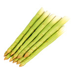 Asparagus 12pcs./bunch, plastic Ø 1cm, 20cm Color:...