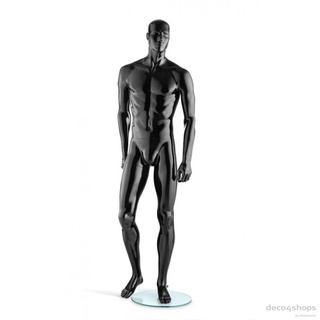 Herrenfigur Liam High Gloss schwarz