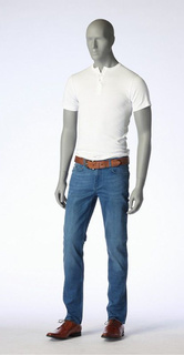 Hindsgaul, Herrenfigur Roy - Grau. Slim Fit