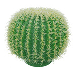 Barrel cactus plastic Ø 30cm Color: green