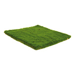 Moss mat felt+plastic 30x30cm Color: green