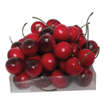 Cherries 48-fold, foam 25mm Color: red