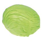 White cabbage rubber Ø 13cm Color: green
