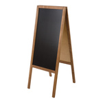 A-board with chalk markers writable 118x47cm Color:...